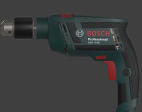 Drill Bosch Professional GSB 13 RE 3D model