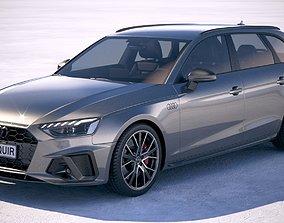 Audi A4 Avant S-line 2020 3D model