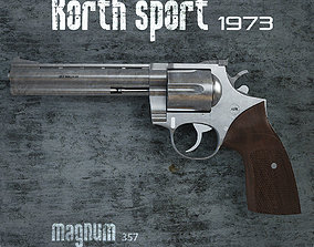 Colt Magnum 357 Korth 3D model