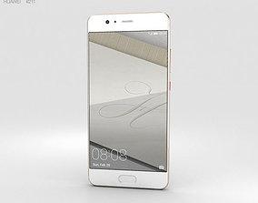 Huawei P10 Dazzling Gold 3D