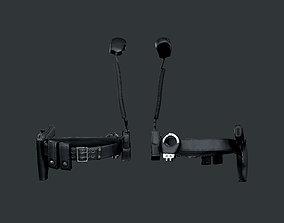 Police Officer Gun Belt 3D asset
