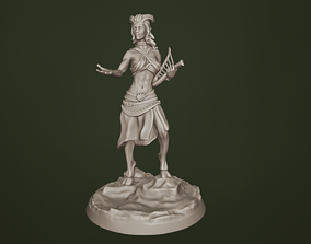 3D print model Female Faun Miniature