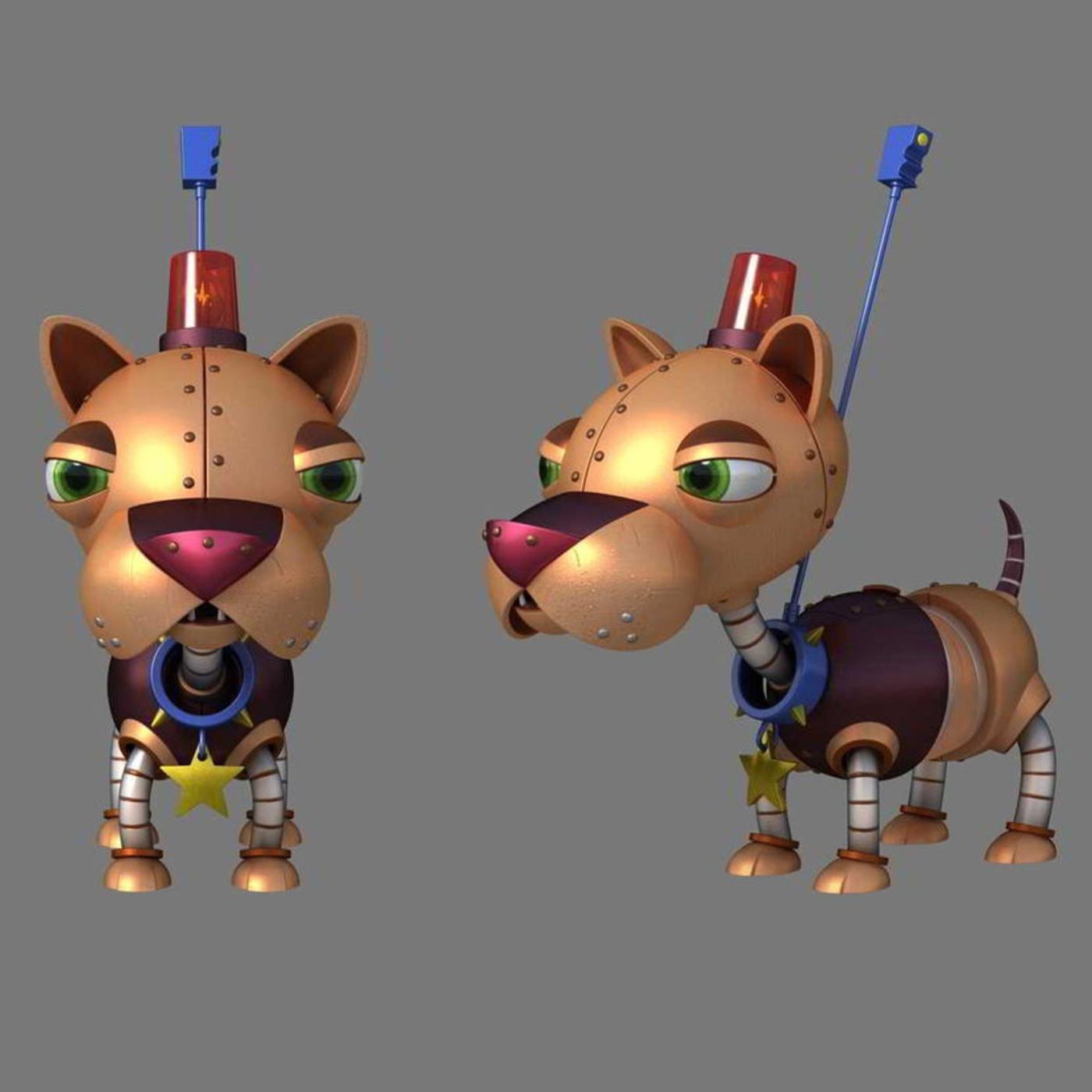 Robo Police Dog