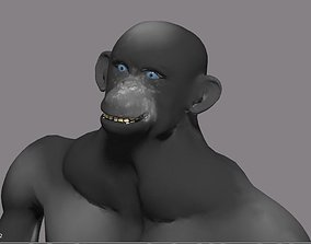 chimpanzee animated 3D