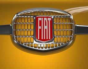 automotive Old Fiat 500 3D model