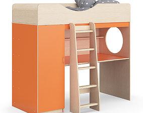 3D Legenda K09 with LP09 childrens modular bed
