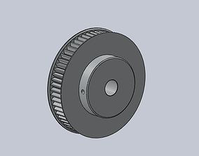 3D printable model HTD-5M Timming Pulley 60 teeth