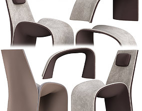 Giorgetti Armchair low poly 3d model game-ready