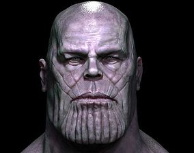 thanos 3D model head fantasy
