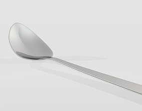 3D print model stainless steel Spoon