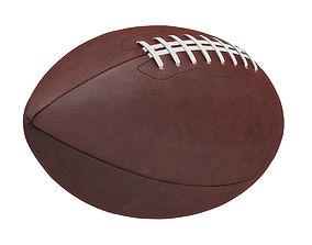 American Football Ball game 3D model