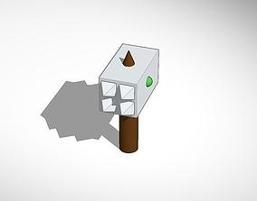 3D printable model war hammer