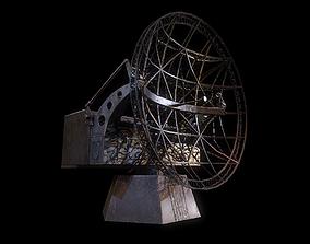 Radar WWII 3D asset