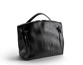 casual Black Hill Satchel Bag 3D