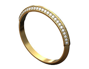 3D print model Thin conical diamond band