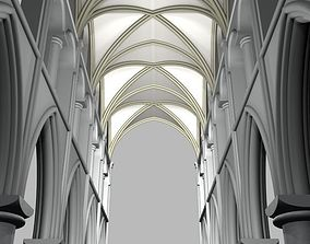 3D Structure cathedral