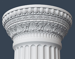 Roman Column 009 3D