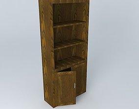 Bookshelf 3D books