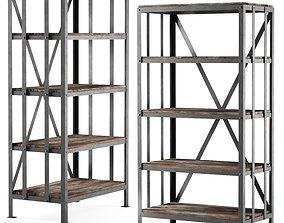 3D asset Metal rack