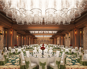 3D model interior Caobang Hotel Assembly Room