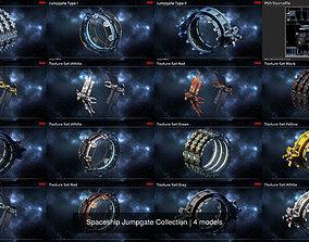 Spaceship Jumpgate Collection 3D PBR
