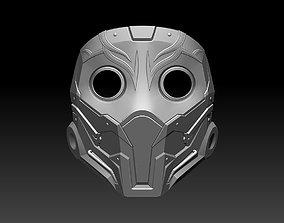 Scarlet mask for cosplay Mortal Kombat MK 3D print model 1