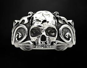 Ring Skull Patterns 3D printable model