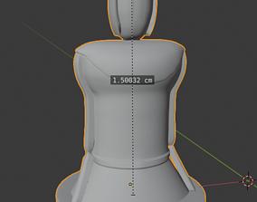3D model GOT RISK game pawn