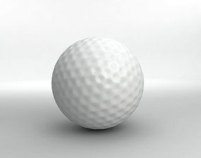 Golf Ball 3D model realtime