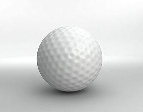 Golf Ball 3D model realtime