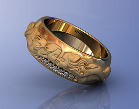 3D printable model Promesa Wedding Band by Carrera