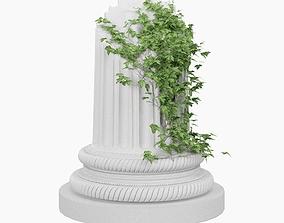 Ruined column 3D