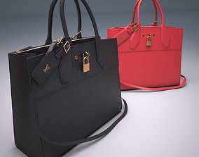 Louis Vuitton City Steamer Bag 3D model