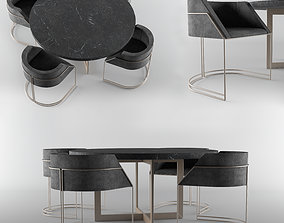 Dining Table indoors 3D model