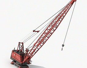 Industrial Crane 3D model