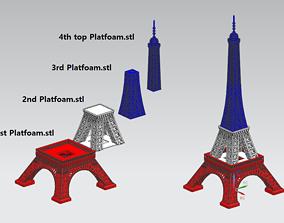 Eiffel Tower 3D printable model 3dprint