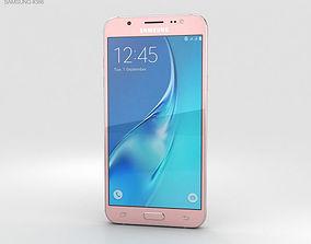 3D model Samsung Galaxy J5 2016 Rose Gold