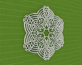pattern design Mandala 3D
