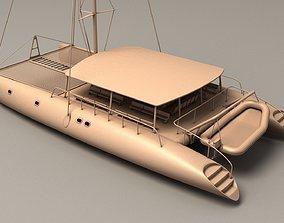 Catamaran 3D