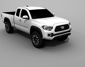 3D model Toyota Tacoma 2017