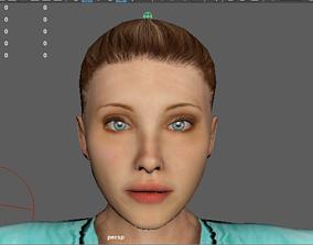 3D model Female Doctor