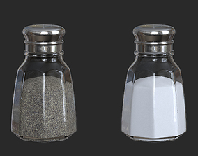 Salt and Peppers Shakers 3D model