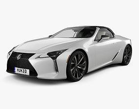 Lexus LC convertible 2019 3D