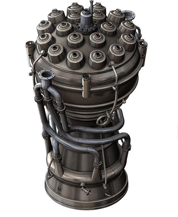 V-2 rocket (Vergeltungswaffe 2) engine