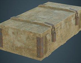 Ammunition Box 2D 3D asset