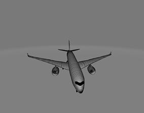3D model Airbus A350