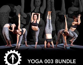 3D model Yoga 003 Bundle