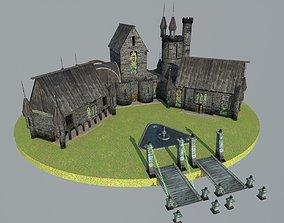 castle glass 3D model