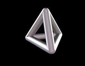 004 Mathart - Platonic Solids - 3D printable model 5