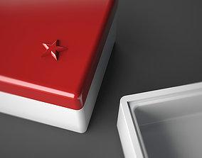 Gift box 3D printable model